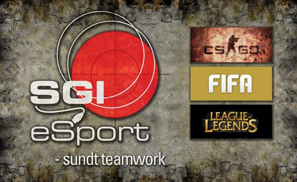 SGI esport Logo Design Linda Kongerslev