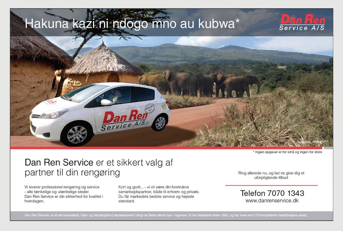 Dan-Ren-Service-profil annonce-Afrika-Linda Kongerslev Grafisk Design