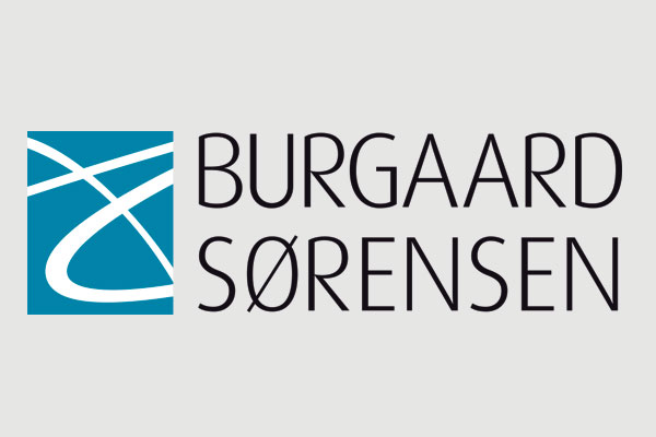 Burgaard Sørensen, Esbjerg, logo design Linda Kongerslev