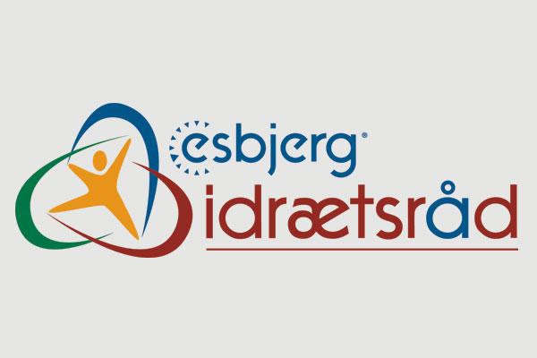 Esbjerg Idrætsråd logo design Linda kongerslev