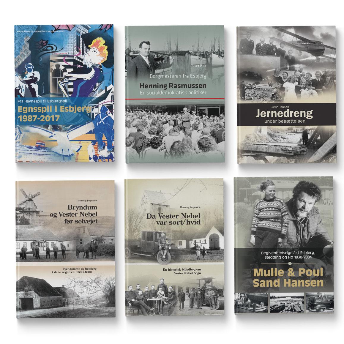 Henning Rasmussen-Egnsspil i Esbjerg- Jernedreng-bogproduktion - By Historisk Arkiv - Linda Kongerslev-Grafisk Design