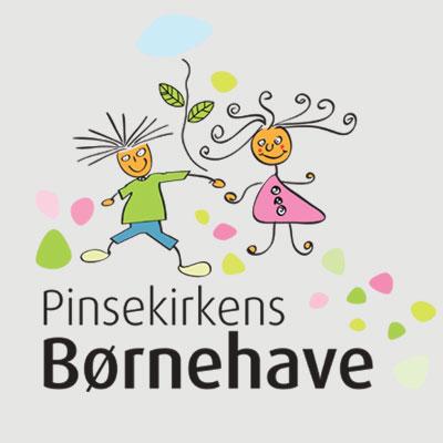 Pinsekirkens Børnehave logo design Linda Kongerslev