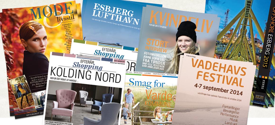 Tema og profil aviser Lindakongerslev design