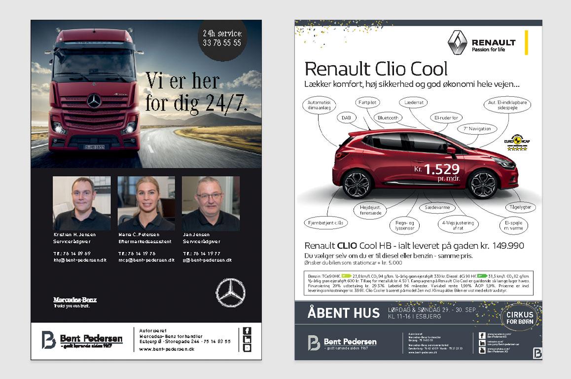 Bent-Pedersen AS-Mercedes-forhandler-Esbjerg-annonce Linda Kongerslev