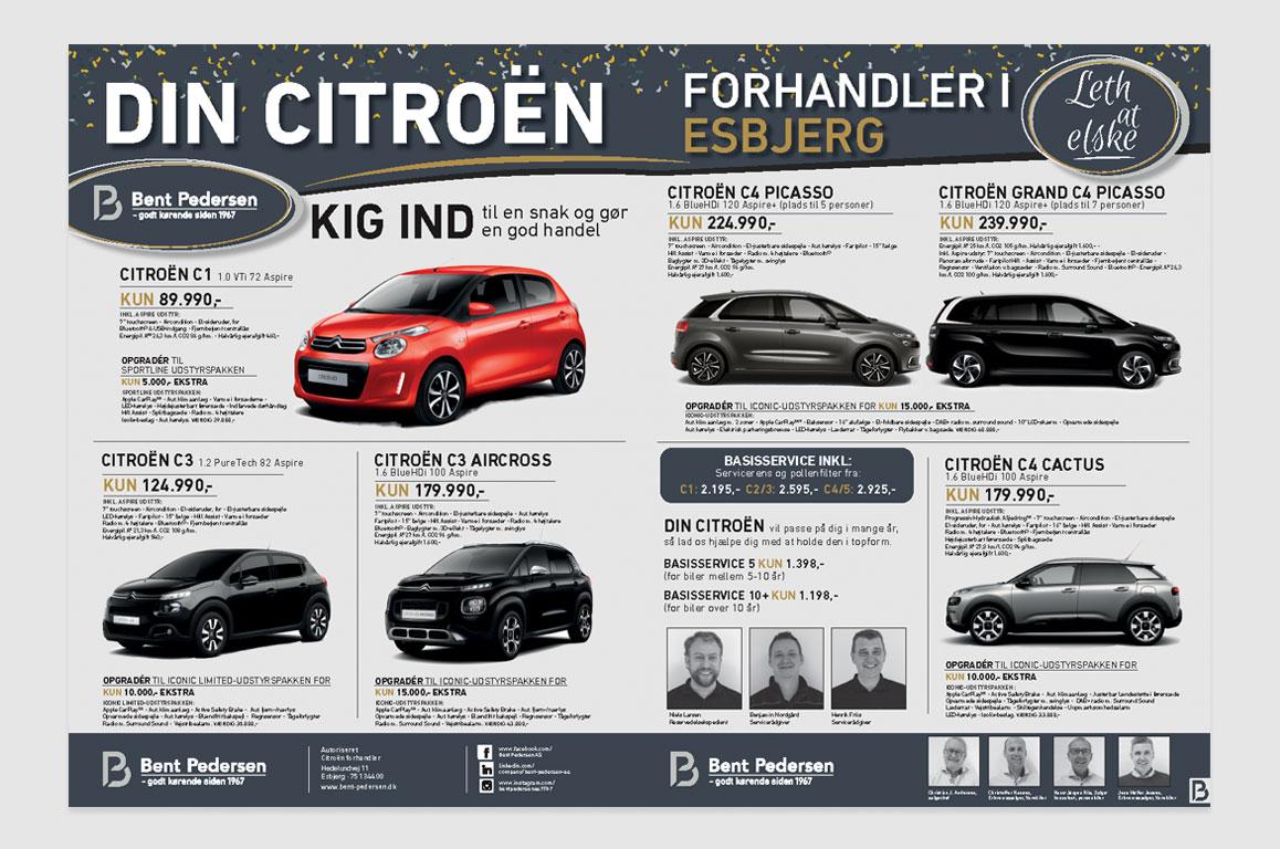 Bent-Pedersen AS-Ny-Citroen-forhandler-i-Esbjerg annonce Linda kongerslev