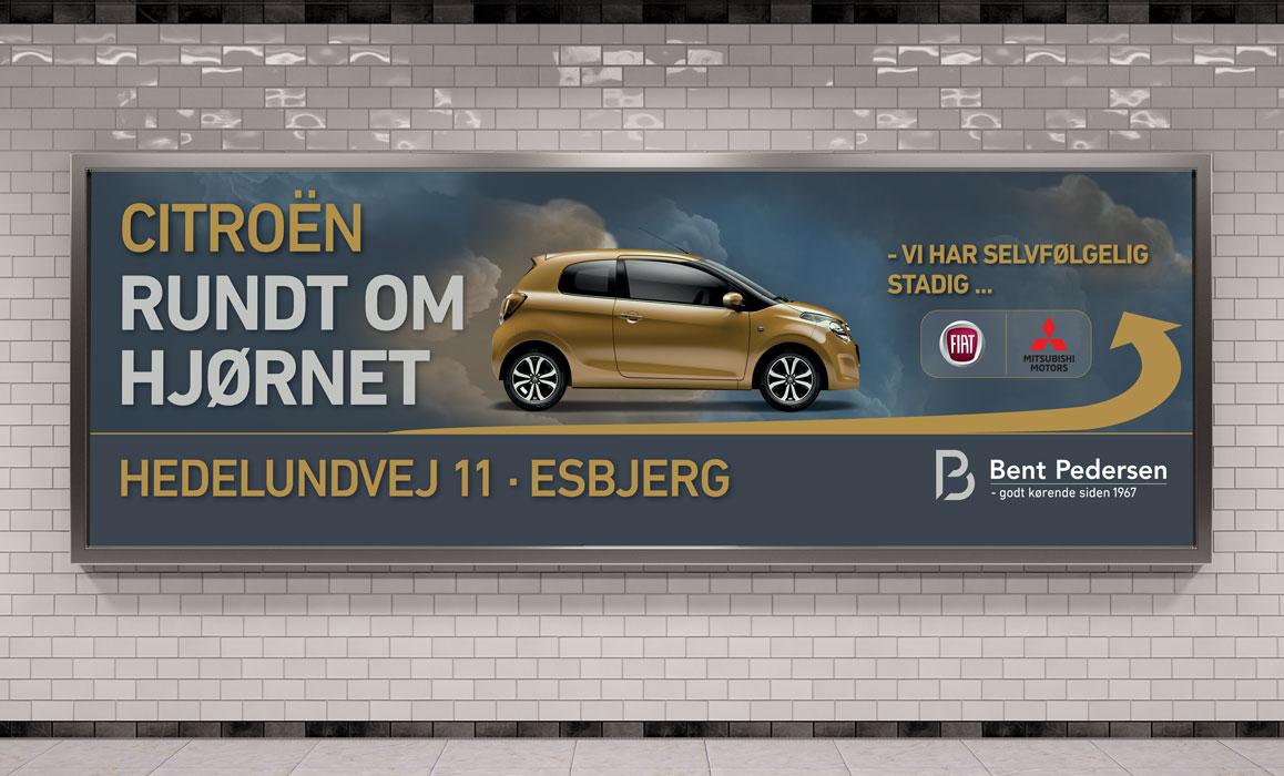 Bent Pedersen AS ny Citroên forhandler, Esbjerg