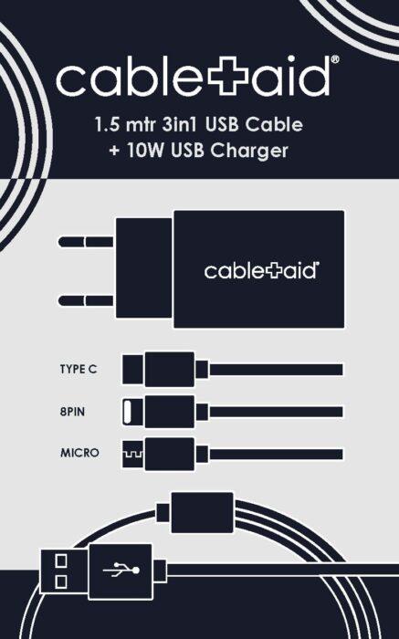 Cable Aid er et nyt mobilladekable koncept