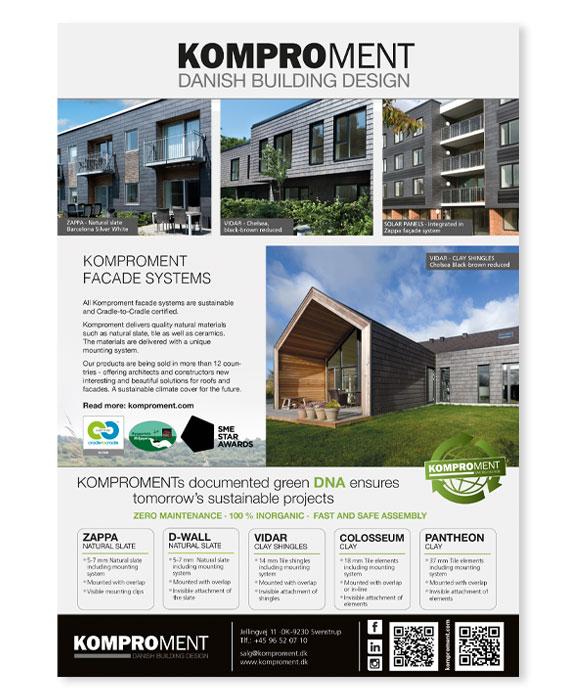 Danish Building Design-Annoncer-facadesystem-Linda-kongerslev-grafisk-design