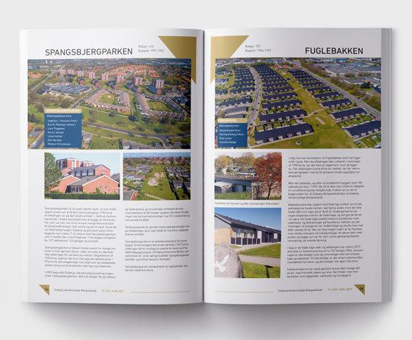 EAB-75 år Jubilæumsskrift-Linda Kongerlsev design