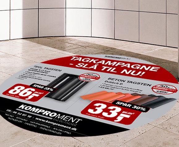Floor-stickers-Linda Kongerslev Grafisk Design