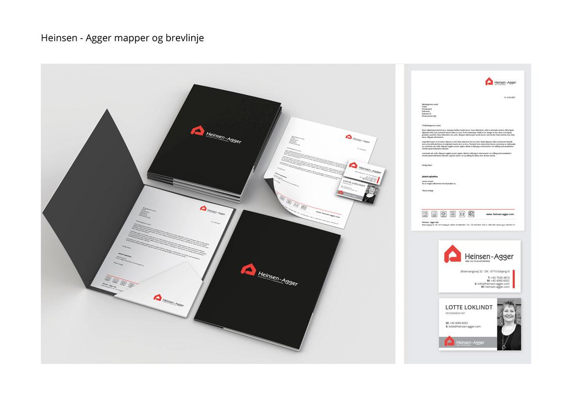 Heinsen -Agger ny hjemmeside og redesign Linda kongerslev