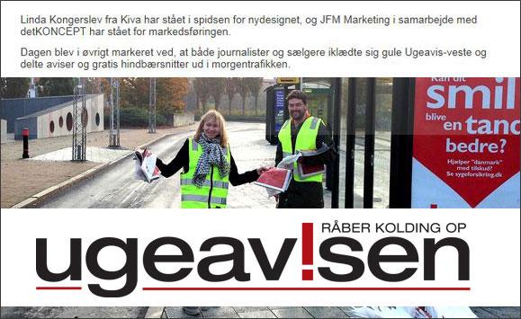 Kolding-Ugeavis-visuelle-identitet-Linda Kongerslev