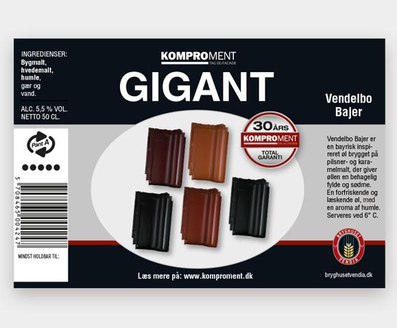 Komproment-Gigant-Øl-etiketter Linda-Kongerslev-Grafisk-Design
