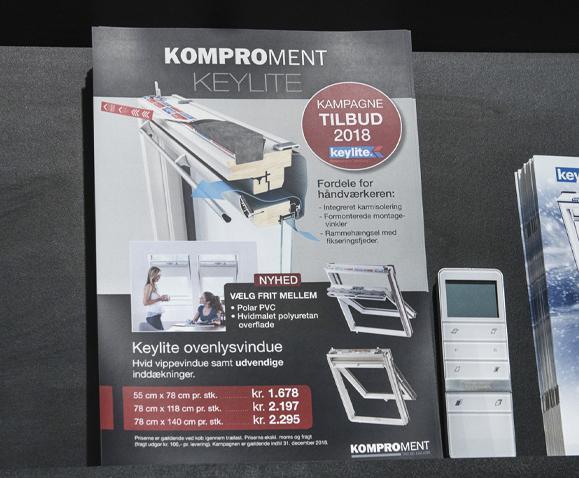 Komproment - Keylite Flyer Linda Kongerslev Grafisk Design
