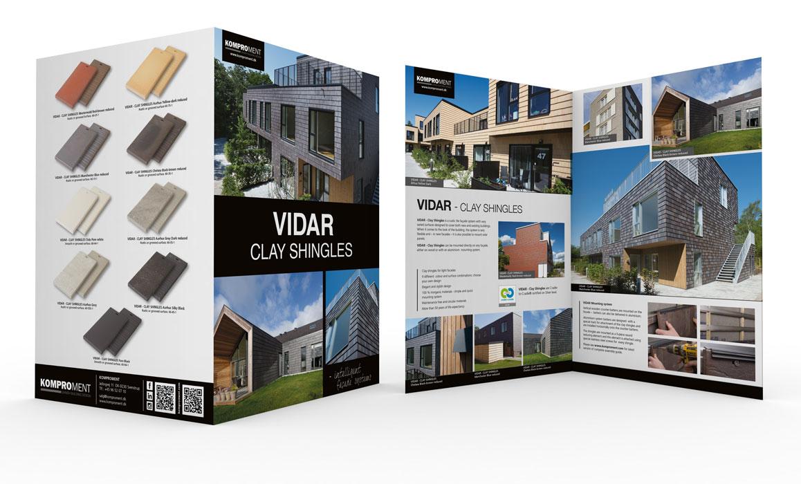 Komproment-Folder -Vidar-Clay-Shingles-Linda Kongerslev Grafisk Design