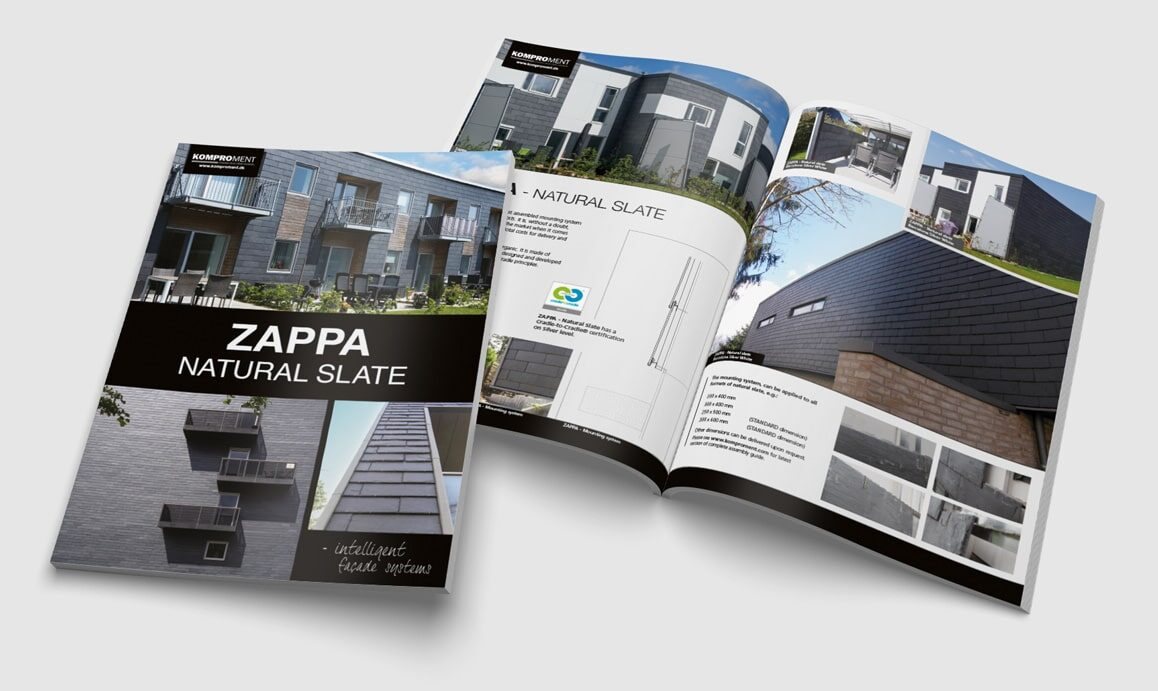 Komproment-Brochure-Zappa-brochure-Linda kongerslev Grafisk Design