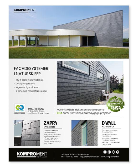 Komproment-Annoncer-facadesystem-Linda-kongerslev-grafisk-design