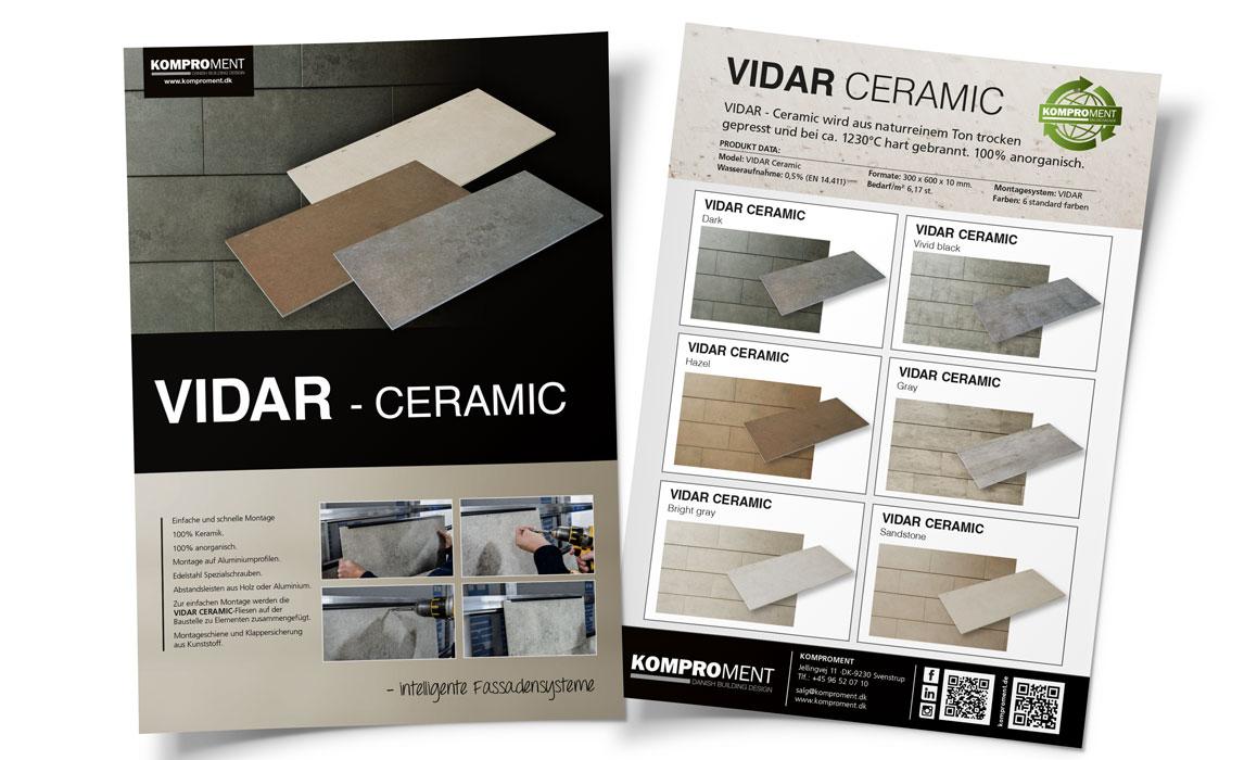 Flyer-Vidar-Ceramic-lindakongerslev-Linda Kongerslev Grafisk Design