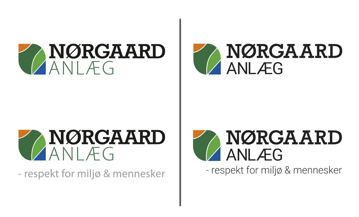 Nørgaard Anlæg Ribe logo- Linda kongerslev redesign