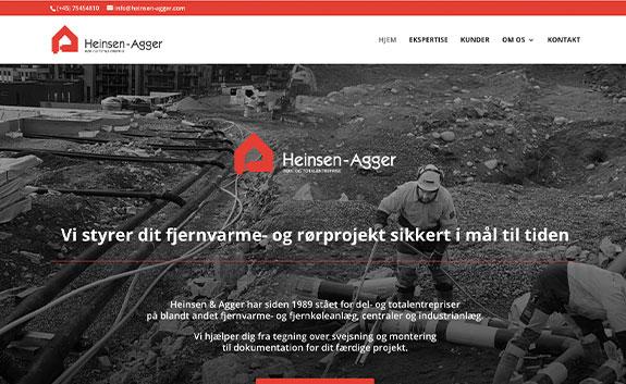 www.heinsen-agger.com-linda-kongerslev-hjemmeside-design